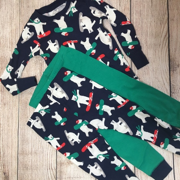 Boys' Clothing (newborn-5t) Nwot Just One You Carter's 9 Month Long Sleeve One Piece Top Shirt Boy Set Bear Baby & Toddler Clothing